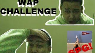 Wap reaction challenge|Tsong TV|Vlog005