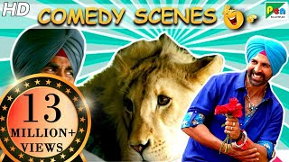 Singh Is Bliing Best Of Comedy Scenes | Akshay Kumar, Amy Jackson, Lara Dutta | HD - Download this Video in MP3, M4A, WEBM, MP4, 3GP