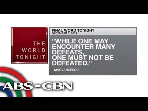 [ABS-CBN]  Final Word – December 5, 2019 | ANC