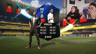 FIFA 17 TOTY RONALDO IM PACK PRANK AN SCHWESTER! ⛔️😱