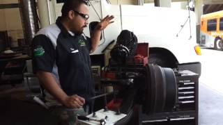 Heavy Duty Drum Brake adjustment