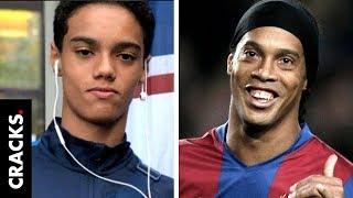El hijo de Ronaldinho, Joao Mendes, ocultó su identidad para ser fichado por el Cruzeiro