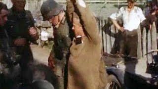 Нападение Германии на СССР: Страшные кадры в цвете