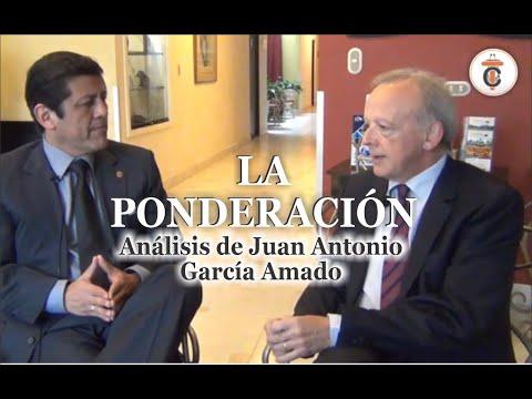 LA PONDERACIÓN: Análisis de Juan Antonio García Amado -Tribuna Constitucional 77-Guido Aguila Grados