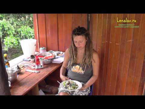 Рецепт салата с имбирём от Жени. Рецепт записали в Таиланде, а готовим - в России