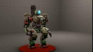 Bastion turret transformation animation