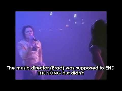 That time Michael Jackson fired his music director in the middle of a live performance