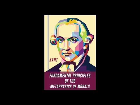 """Immanuel Kant (1785) """"Fundamental Principles of the Metaphysics of Morals"""" - Boris Brejcha Mix"""