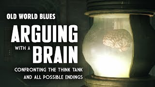 Gambar cover Old World Blues 14: Arguing with a Brain - Plus, Confronting the Think Tank & All Possible Endings
