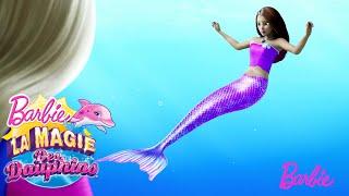 Tu es une sirène ?   Barbie La Magie des dauphins   @Barbie Français