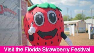 Florida Travel: A Guide to the Florida Strawberry Festival, Plant City