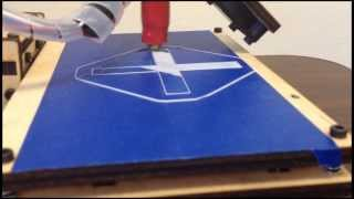 MatterControl Printing To A Printrbot (with Auto Part Leveling)