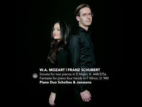 play video:Piano Duo Scholtes & Janssens - Mozart - Sonata for two pianos K.448/375a - Andante