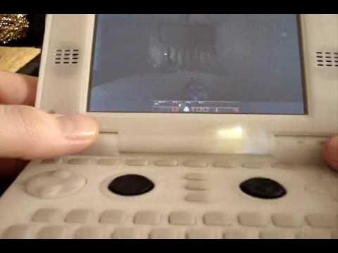 Near-Final Pandora Linux Gaming Handheld Shown Actually Playing Something