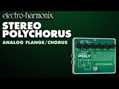 ELECTRO-HARMONIX Stereo Polychorus Kytarový efekt