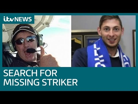 Pilot missing with Emiliano Sala is named as Dave Ibbotson | ITV News