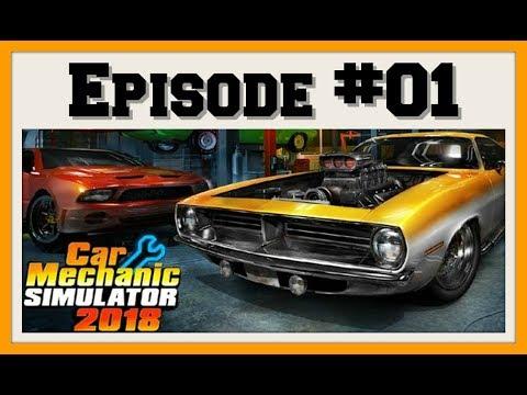 Car Mechanic Simulator [Xbox One X Gameplay] - Episode 1 - Starting up my buisness