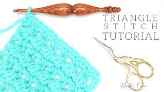 CROCHET: Triangle Stitch | Bella Coco