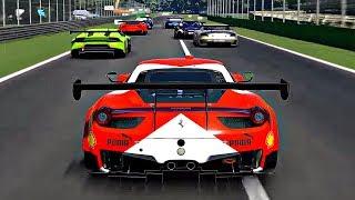 Gran Turismo Sport - Gameplay Ferrari 458 Italia GT3 @ Monza [1080p 60fps]