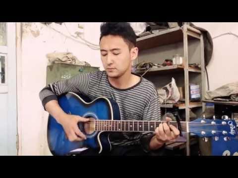 Руки вверх - Солнышком (на гитаре)