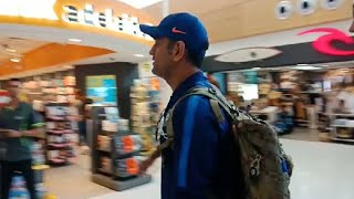 Watch: MS Dhoni leaves Adelaide to play the series decider at MCG