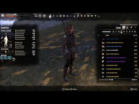 Stamblade Pvp Build Morrowind Eso