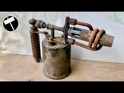 Antique Blowtorch Restoration