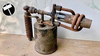 Antique Blowtorch Restoration