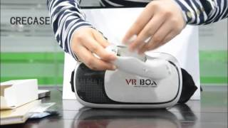 2016 newest VR BOX 2nd generation Virtual Reality Glasses Unboxing Video(Coolest Gifts)