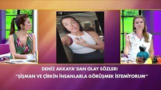Deniz Akkaya'dan sosyal medyada tepki çeken sözler! Müge ve Gülşen'le 2. Sayfa