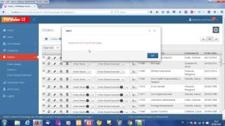 Template Setting of Masino Template file for PHPMaker 12