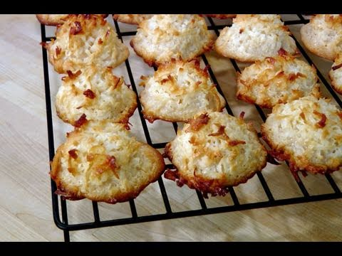 How to make Coconut Macaroons – Recipe by Laura Vitale – Laura in the Kitchen Episode 77