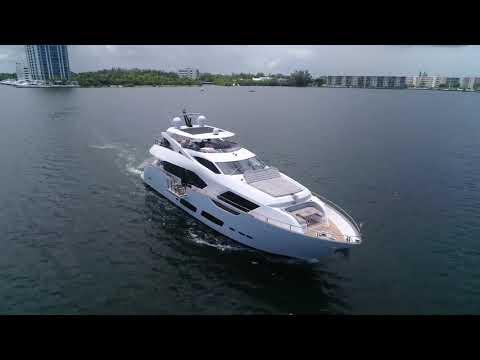 Sunseeker 95 Yachtvideo