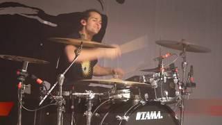 Aric Improta (FEVER 333)   Drum Sound Check.