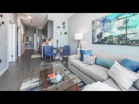 A South Loop 1-bedroom -02 model at the amenity-rich 1000 South Clark