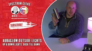 AuraGlow Avebury Up & Down Outdoor Lights Review and Fitting