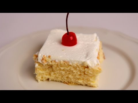 Tres Leches Cake Recipe – Laura Vitale – Laura in the Kitchen Episode 383