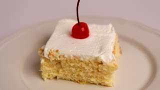 Tres Leches Cake Recipe - Laura Vitale - Laura in the Kitchen Episode 383