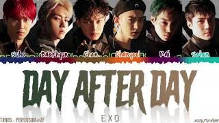 EXO (엑소) - 'DAY AFTER DAY' (오늘도) Lyrics [Color Coded_Han_Rom_Eng]