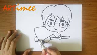 How To Draw Harry Potter Characters Easy Free Video Search Site