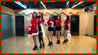 [EXID(이엑스아이디)] 위아래 안무 연습 영상 X-mas ver