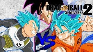 This Is For My Pride!!!! - Vegeta VS Goku/Goku Black Dragonball Xenoverse 2
