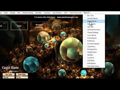 jewellery software Training Video | JewelerySoftware.com