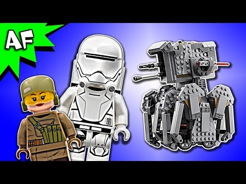 Vidéo LEGO Star Wars 75177 : First Order Heavy Scout Walker