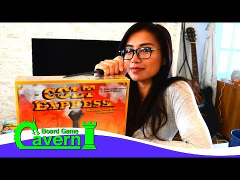 "Unboxing ""Colt Express"" - Board Game Cavern"
