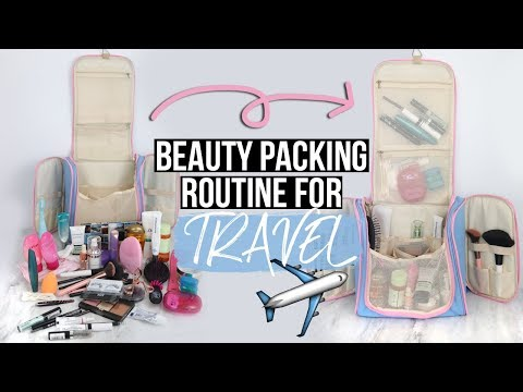 WHAT'S IN MY TRAVEL MAKEUP BAG? | MelodySusie Bag Review