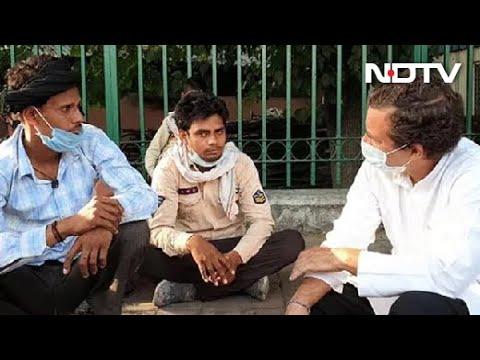 & quot; ड्रामाबाज़ी & quot; निर्मला सीतारमण के बाद राहुल गांधी प्रवासी श्रमिकों की मदद करते हैं