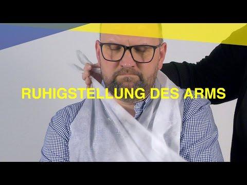 Ruhigstellung des Arms | M-A-U-S Erste Hilfe Kurs | Video Tutorial