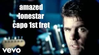 amazed lonestar lyrics and chords