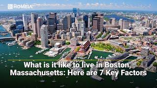 How is life in boston massachusetts